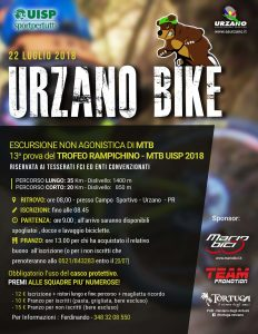 Urzano Bike 2018 - 4ª Edizione @ AICS URZANO   Urzano   Emilia-Romagna   Italia